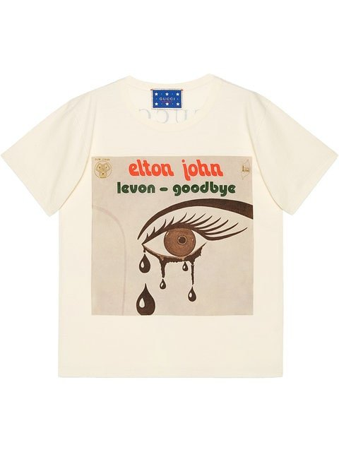 Gucci Gucci Elton John T-shirt - Farfetch