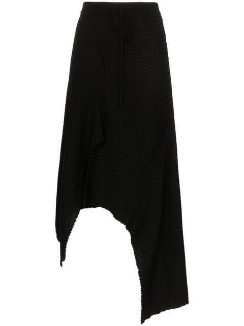 Marques\'almeida Asymmetric Merino Wool Skirt - Farfetch