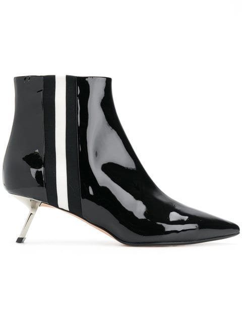 Alchimia Di Ballin Side-striped Ankle Boots - Farfetch