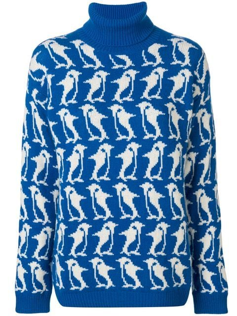 Moncler Grenoble Penguin Turtleneck Sweater - Farfetch