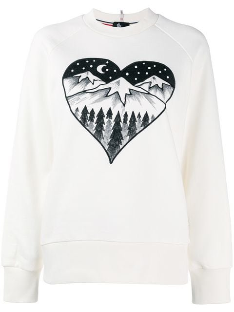 Moncler Grenoble Après Ski Embroidered Sweater - Farfetch