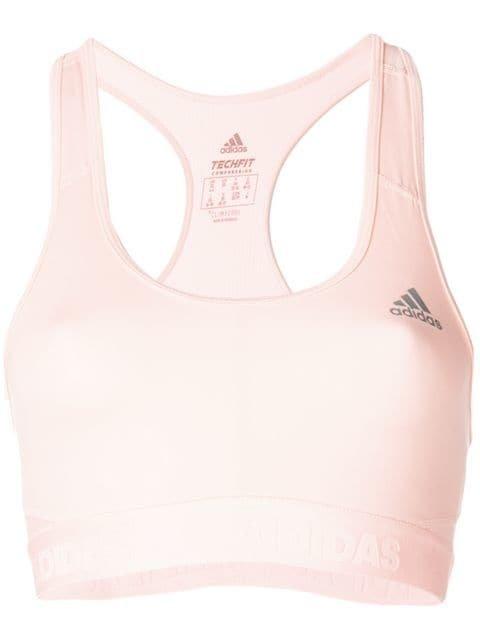 Adidas Alphaskin Sports Bra - Farfetch