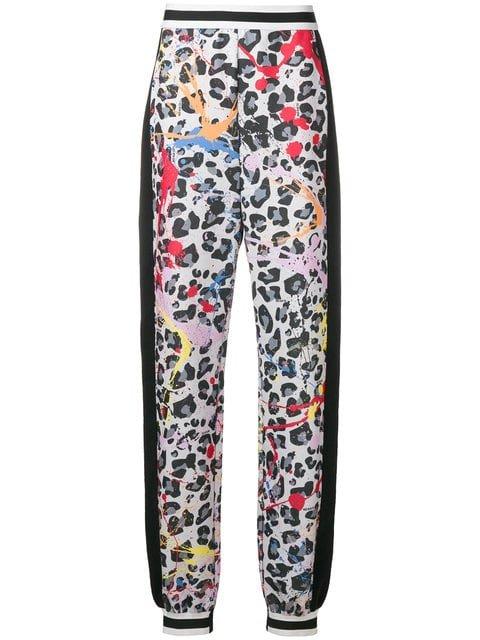 No Ka\' Oi Leopard Print Joggers - Farfetch