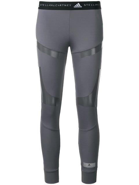 Adidas By Stella Mccartney Panelled Performance Leggings - Farfetch