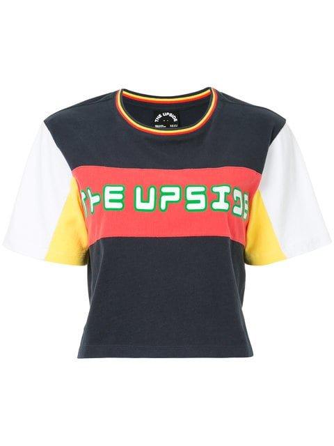 The Upside Block Panel T-shirt - Farfetch