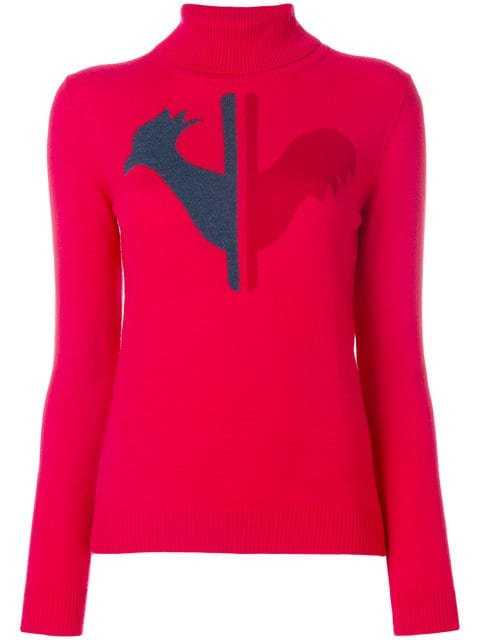 Rossignol Logo Patch Sweater - Farfetch