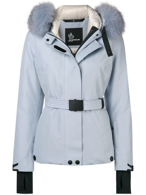 Moncler Grenoble Fox Fur Hooded Jacket - Farfetch