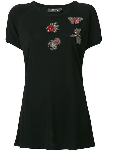 Jo No Fui Embellished T-shirt - Farfetch