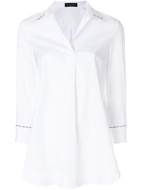 Piazza Sempione Casual V-neck Shirt - Farfetch