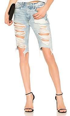 Beverly High Rise Long Biker Short                                             GRLFRND