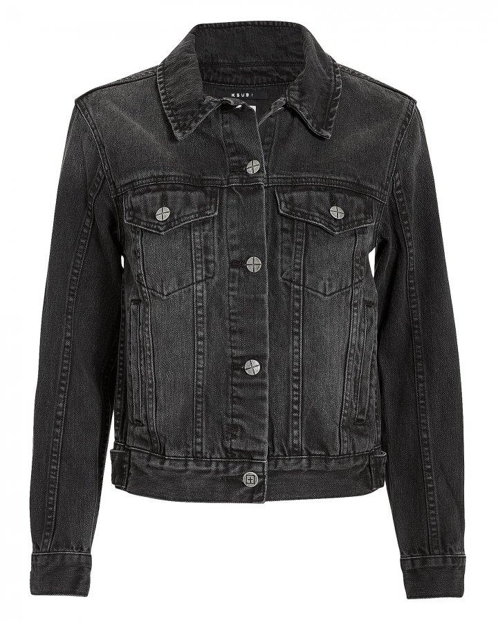 Classic Black Jean Jacket