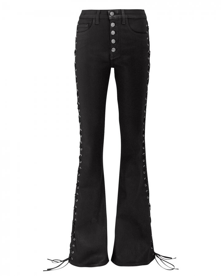 Beverley Lace-Up Jeans