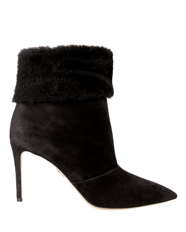 Banner Shearling Booties
