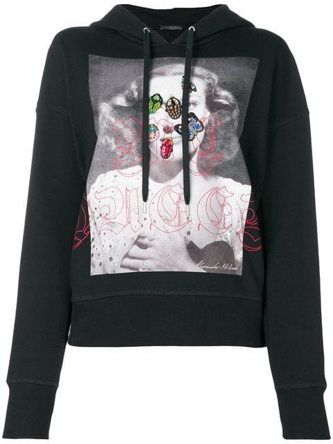 Alexander McQueen Hooded Sweatshirt - Farfetch