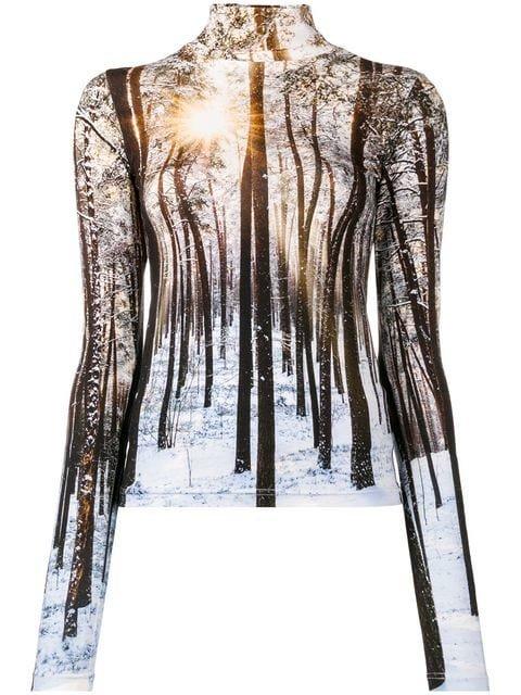 R13 Winter Print Sweatshirt - Farfetch