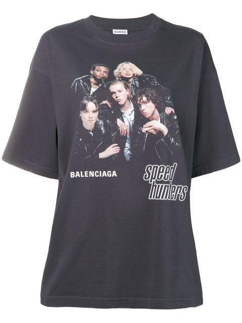 Balenciaga Speedhunters Boyband T-shirt - Farfetch