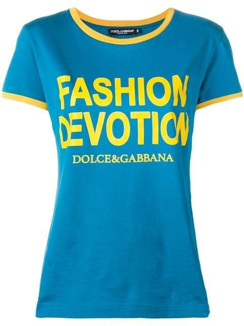 Dolce & Gabbana Print T-shirt - Farfetch