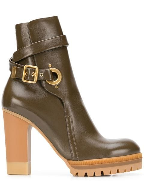 See By Chloé Platform Ankle Boots - Farfetch