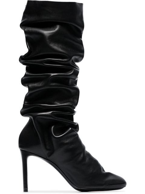 Nicholas Kirkwood D\'Arcy 85 Medium Leather Boots - Farfetch
