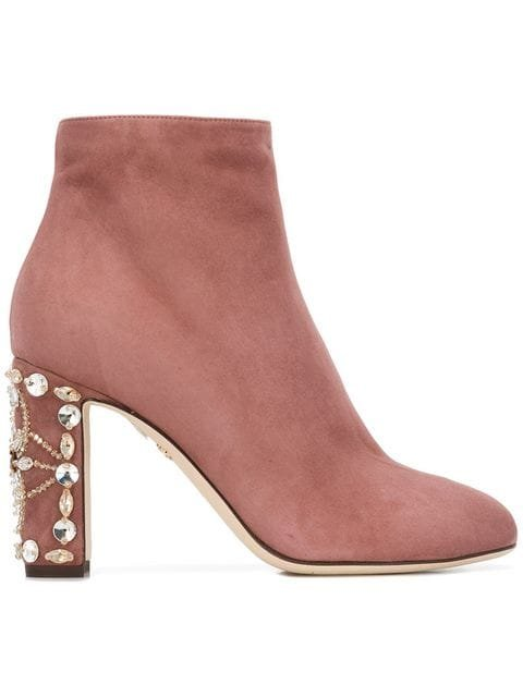 Dolce & Gabbana Zip-up Ankle Boots - Farfetch