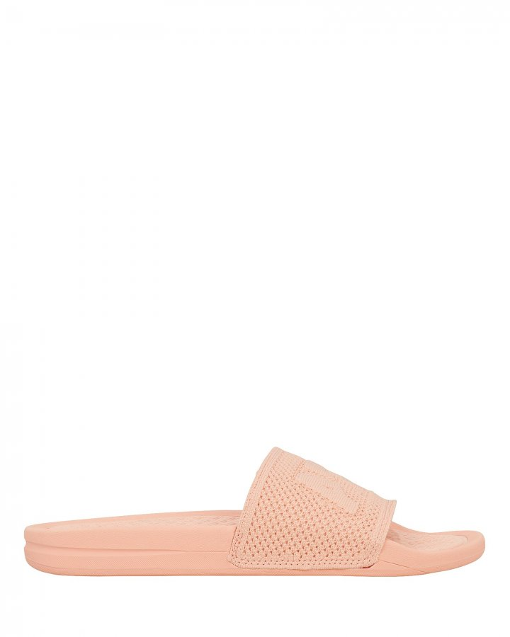 Cotton Pink TechLoom Slides