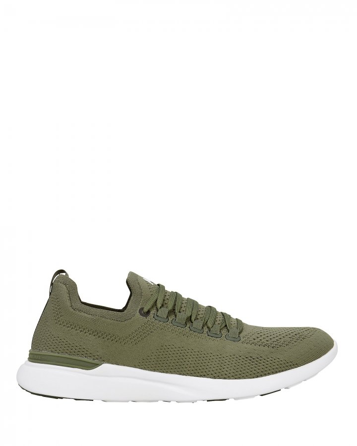 TechLoom Breeze Army Green Sneakers