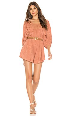 Dancing In The Waves Romper                                             Free People