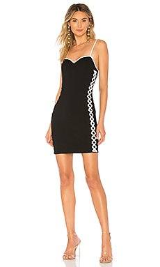 Val Faux Lace Up Bodycon Dress                                             by the way.