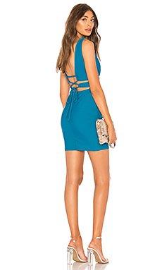 Ingrid Deep V Mini Dress                                             by the way.