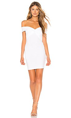 Yumi Off Shoulder Knot Dress                                             by the way.