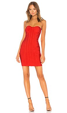 Alina Strapless Bandage Dress                                             by the way.