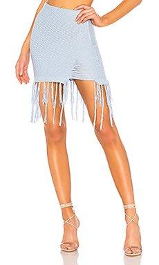 Rosalind Knit Mini Skirt                                             NBD