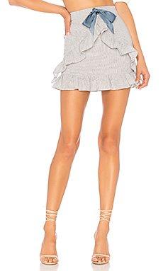 Roselle Mini Skirt                                             Privacy Please