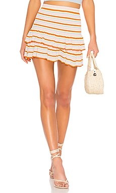 Flared Sweater Skirt                                             Lovers + Friends