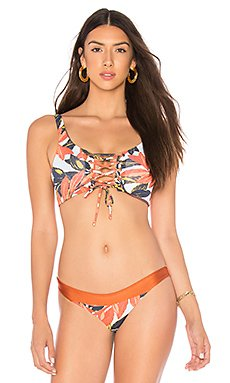 Reversible Lace Up Bikini Top                                             Maaji