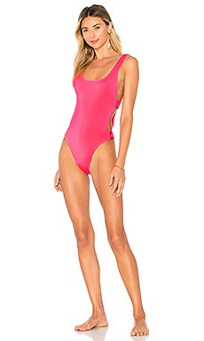 x REVOLVE Mayra Classic One Piece                                             L*SPACE