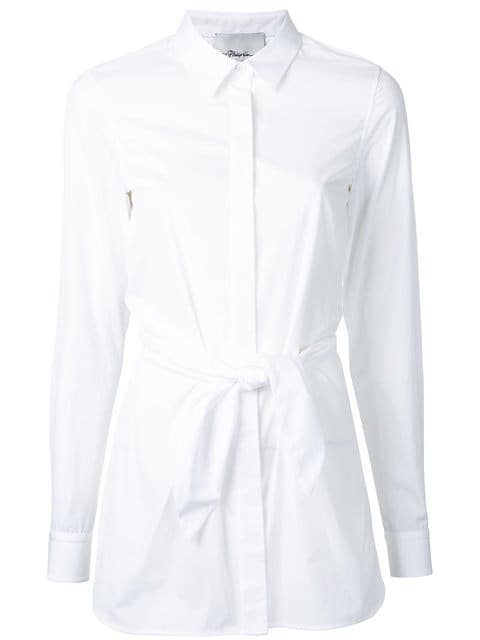 3.1 Phillip Lim Fitted Knot Shirt - Farfetch
