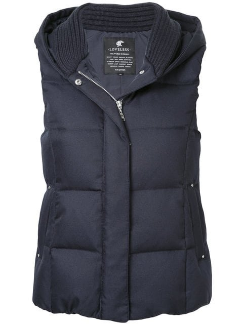 Loveless Padded Gilet - Farfetch