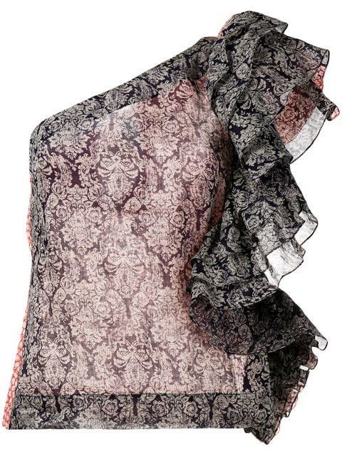 Rosie Assoulin Ruffled One Shoulder Top - Farfetch