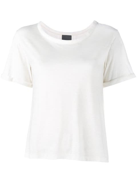 Lot78 Cashmere Side Split T-Shirt  - Farfetch