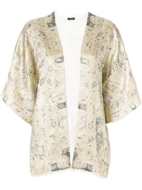 Etro Patterned Lightweight Jacket - Farfetch
