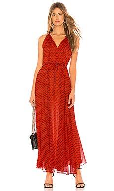 Tie Waist Maxi Dress                                             Diane von Furstenberg