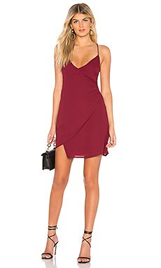 Aiden Wrap Mini Dress                                             by the way.