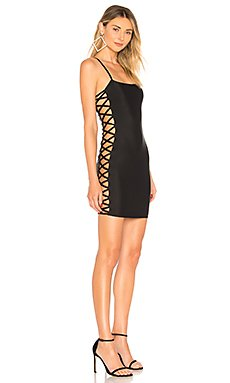 Zaela Lace Up Mini Dress                                             by the way.