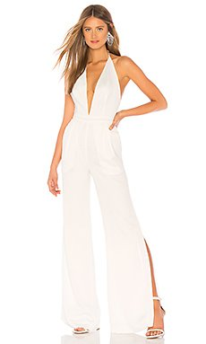 x REVOLVE White Temple Jumpsuit                                             Chrissy Teigen