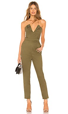 Talia Strapless Jumpsuit                                             About Us