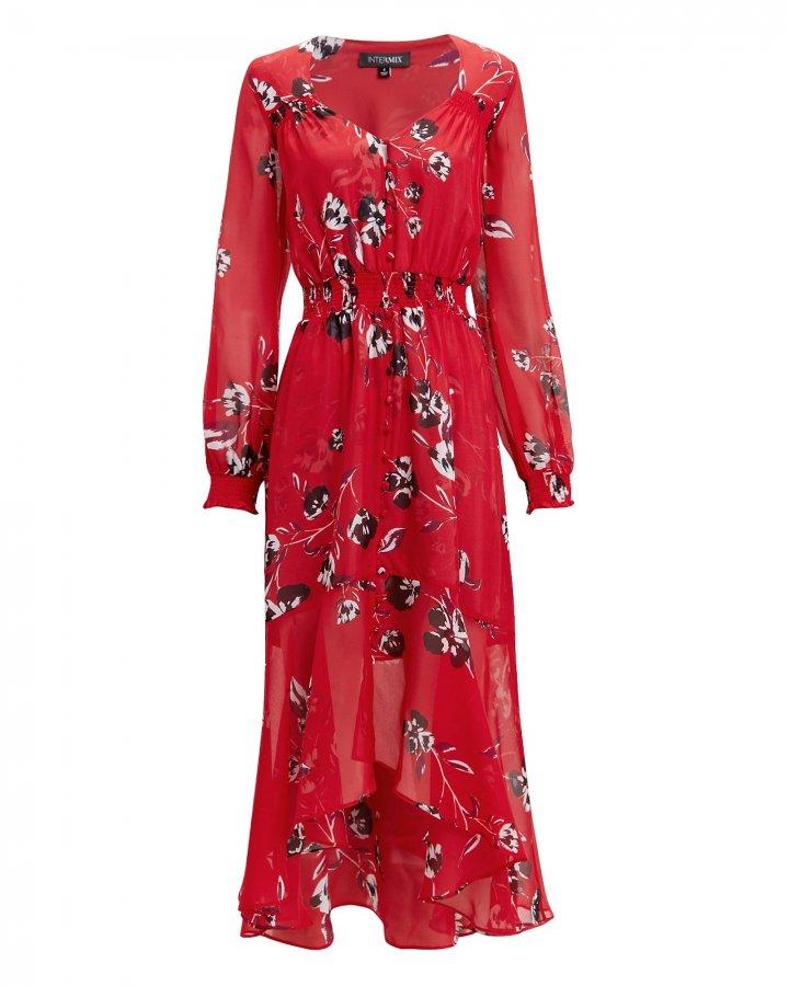 Deirdre Floral Print Dress