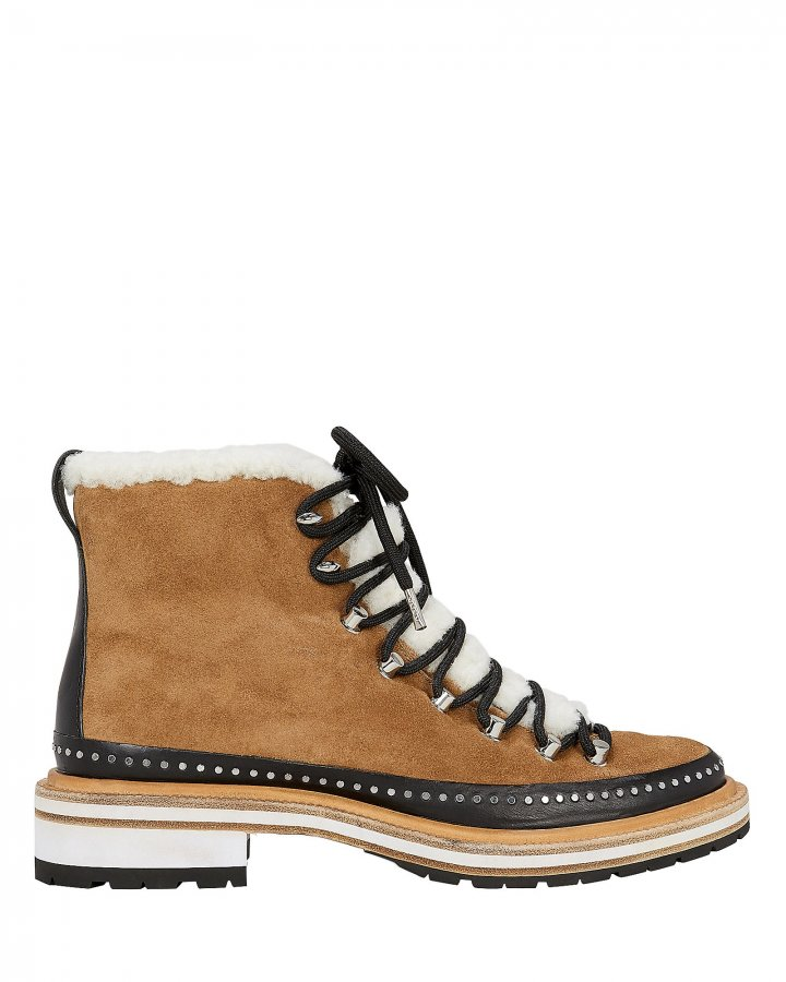 Compass Shearling Booties