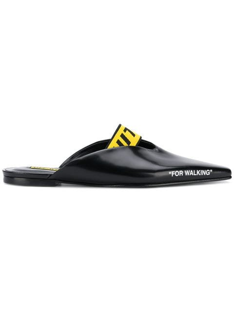 Off-White Industrial Strap Mules - Farfetch