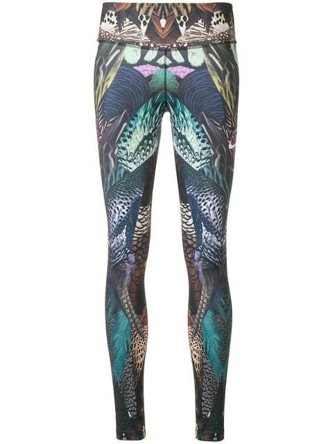 Nike Feather Print Leggings - Farfetch